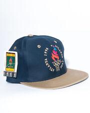 Atlanta Olympics Vintage Logo 7 Snapback Hat 1996 Centennial USA Dream Team