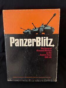 Panzerblitz WWII Armored Warfare COMPLETE CIB Avalon Hill 807 - Bookcase Game