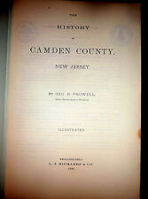 History of Camden County by Prowell , New Jersey