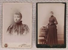 2 Antique Cabinet Photos Moorhead Halstad Lake Park Fairbault Peavey MN FREE SH