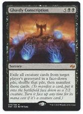 4X Ghastly Conscription - LP - Fate Reforged Black Rare MTG Magic Cards