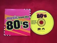 Echo & the Bunnymen Erasure INXS A-ha Aha Promo Promotional 80's CD