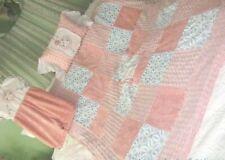 ViNtAgE Linen CHENILLE COMFORTER SET SweeT DreamS  FLOWER BABY Diaper STACKER &