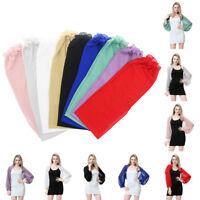 Fashion Women Chiffon Long Sleeve Shrug Cover Up Summer Outdoor Sunscreen Tops