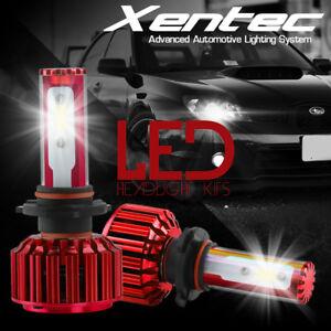 9006 9005 H11 H10 H7 2PCS LED Total 144W 16000LM Headlight 6000K White Kit Bulbs