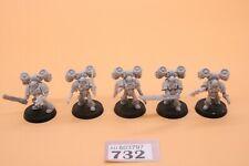 Warhammer 40k Horus Heresy FORGEWORLD 5 Assault Marines With Jetpacks 732