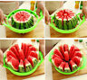 Watermelon Cutter Cantaloupe Melon Slicer Stainless Steel Kitchen Fruit Divider