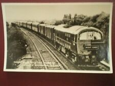 POSTCARD RP ELECTRIC LOCO E500 HAULING THE NIGHT FERRY
