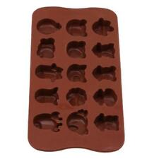 Adorable Cute Animal Flexible Silicone Mold Candy Chocolate Cake Jelly Mould JJ