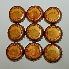 New Listing9 - Adolph Coors - Cork Beer Bottle Caps - Golden, Colorado
