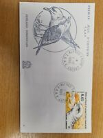 French Antartic 1986 Bird  life  on FDC K16