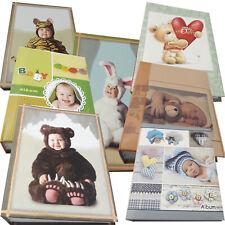 Fotoalben Kinder Baby Süße Motive, 100 Fotos 10x15, Fotoalbum 200 Fotos 10x15