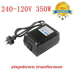 240V to120V Mains Step down Transformer 350W Pure Sinewave Electricity Converter