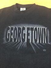 Vintage Georgetown University Hoyas 1980s Big East NCAA College Gray Sweatshirt // basketball // vintage sweatshirt XSMALL 5pIG2LyJAP