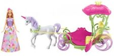 Barbie Horse And Carriage Unicon Dreamtopia Sweetville Doll And Accessories Gift