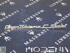 MASERATI GRANTURISMO C SPORT STEMMA SCRITTA SCOMPARTO INTERNO AUTO DASHBOARD
