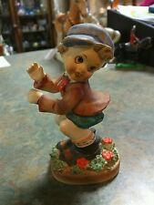 American Children Boy Figurine Occupied  Made In Japan #364 Vintage