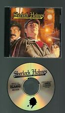 Sherlock Holmes PC Computer Game in case with manual and newspaper. Tested.