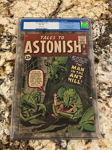 TALES TO ASTONISH #27 CGC 3.5 OW PAGES 1ST ANT MAN HENRY PYM AVENGERS MCU HOT