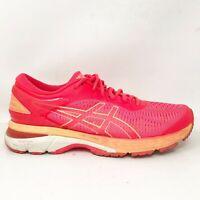 Asics Womens Gel Kayano 25 1012A026 Diva Pink Orange Running Shoes Size 10.5