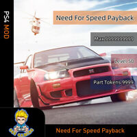 Need for Speed Payback (PS4 Mod)-Max Money/Level/Part Token