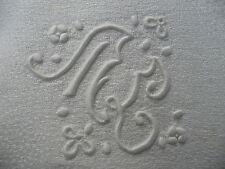 1 serviette ancienne ML