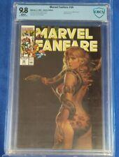 Marvel Fanfare #56 #57 #58 #59 CBCS 9.8  RARE * LOW PRINT * SHANNA all 4 not cgc