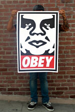 SHEPARD FAIREY ♦ ANDRE THE GIANT ♦ LITHOGRAPHIE SIGNIERT ♦ OBEY GIANT MINT