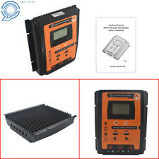 New 12/24V 70A MPPT Solar Charge Controller Panel Battery Regulator Dual USB