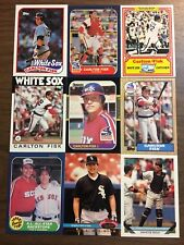 (45) Carlton Fisk Baseball Card Investment Lot All Pictured Big BV Hall of Famer