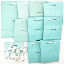 TIFFANY & Co. Empty Shopping Gift Paper Bag 9P Set Tiffany Blue-23