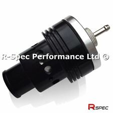 25mm Stealth Black Compact Twin Piston Turbo Dump Valve BOV - Fully Adjustable