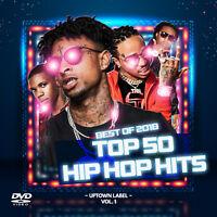 Hip Hop Rap Music Videos DVD 2018 Best Top 50 Drake, Migos, 6ix9ine, Cardi B NEW