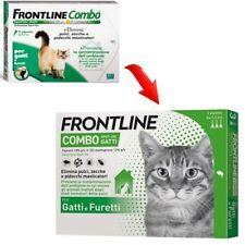 FRONTLINE COMBO GATTO 3 PIPETTE ANTIPARASSITARIO PER GATTO ANTIPULCI SPTL