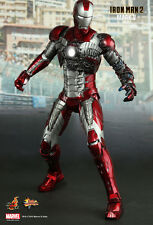 HOT TOYS 1/6 MARVEL IRON MAN 2 MMS145 MK5 MARK V MASTERPIECE ACTION FIGURE