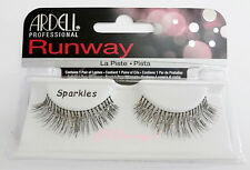 NIB~ Ardell Runway SPARKLES False Fake Eyelashes Lashes Glitter Wild Black