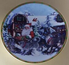 Lenox The Magic of Christmas Plate Collection Gifts For All Santa Claus Reindeer