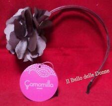**-30%** CAMOMILLA Cerchietto x capelli con fiore e strass porpora accessori