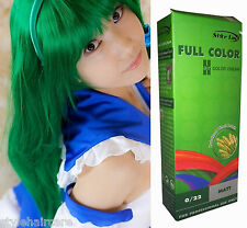 Hair COLOR Permanent Hair Cream Dye Punk Rock Glam GREEN