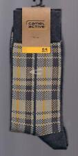 KARODESIGN  Socken, Baumwollmix, anthrazit-braun-beige, 43-46  *camel active*