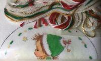 Columbia Minerva BETSEY CLARK Crewel Christmas Ornament (2) Kit Adorable Girls