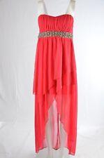 City Triangles Dress Womens Size Medium Strapless High Low Prom Formal (W)
