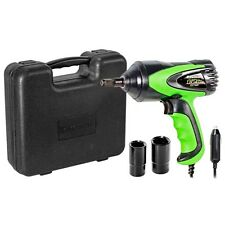"Kawasaki 1/2"" 12V DC Corded Impact Wrench Set Roadside Tire Changes - 841337"