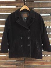 Ralph Lauren Women's 3 Button Up Brown Corduroy Blazer Jacket - Large