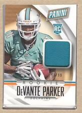 DeVante Parker 53 2015 Panini National Convention Rookie RC Jersey 90/99