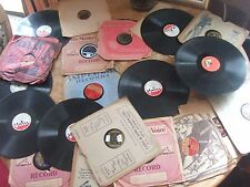 "20 VINTAGE 78"" RPM RECORDS"