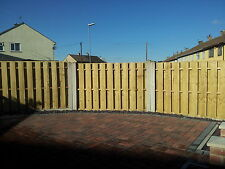 Fence Panels 6' x 4' Double Sided Paling made from Treated Timber(Tanalith E)