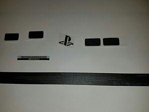 PlayStation 4 Maintenance Warranty Stickers Set Black