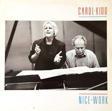CAROL KIDD - Nice Work (LP) (VG-/G++)