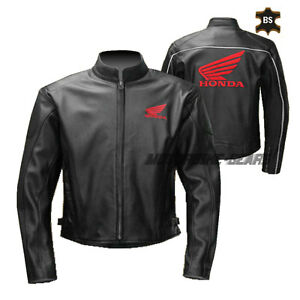 Classic motorbike leather jacket black leather racing apparel with ce armours